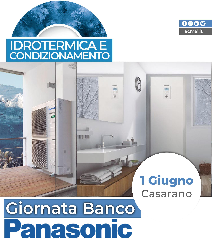 PANASONIC GIORNATA BANCO