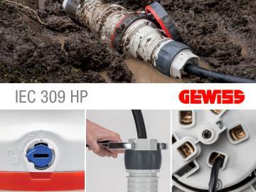SERIE IEC 309 HP PRESE E SPINE A NORME IEC 309